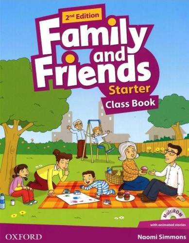 Купити Family and Friends 2nd Edition Starter: Class Book with MultiROM, Київ, Україна | pidrychnuk.com.ua