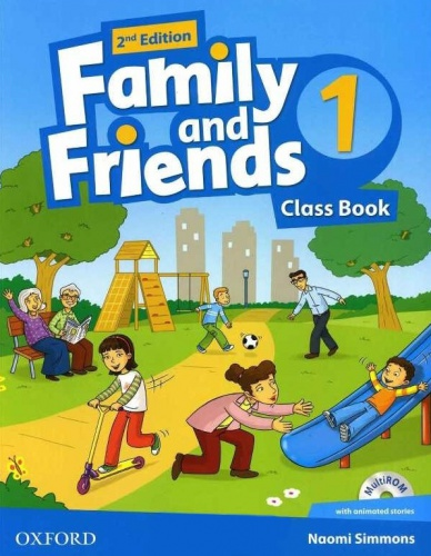 Купити Family and Friends 2nd edition 1: Class Book with MultiROM, Київ, Україна | pidrychnuk.com.ua