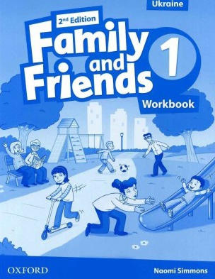 Купити Family and Friends 2nd edition 1: Workbook (Ukrainian Edition), Київ, Україна | pidrychnuk.com.ua