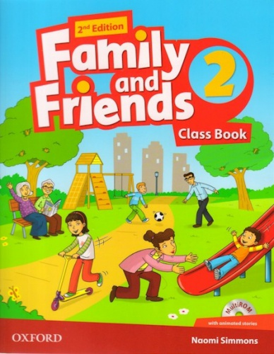 Купити Family and Friends 2nd edition 2: Class Book with MultiROM, Київ, Україна | pidrychnuk.com.ua