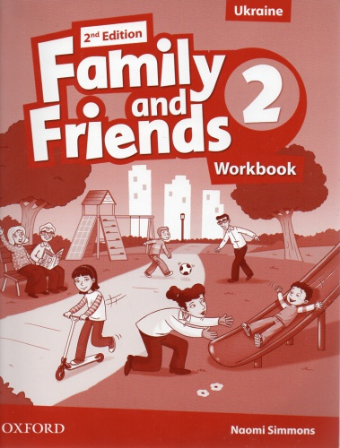 Купити Family and Friends 2nd edition 2: Workbook (Ukrainian Edition), Київ, Україна | pidrychnuk.com.ua