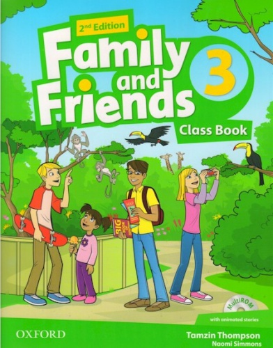 Купити Family and Friends 2nd edition 3: Class Book with MultiROM, Київ, Україна | pidrychnuk.com.ua