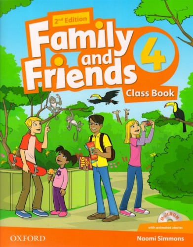 Купити Family and Friends 2nd edition 4: Class Book with MultiROM, Київ, Україна | pidrychnuk.com.ua