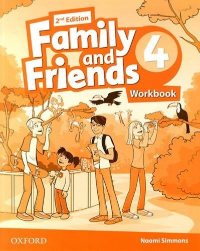 Купити Family and Friends 2nd edition 4: Workbook, Київ, Україна | pidrychnuk.com.ua