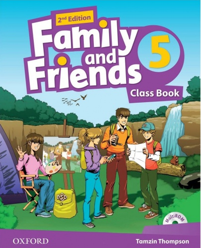 Купити Family and Friends 2nd edition 5: Class Book with MultiROM, Київ, Україна | pidrychnuk.com.ua
