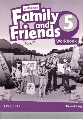 Купити Family and Friends 2nd edition 5: Workbook