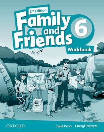 Купити Family and Friends 2nd edition 6: Workbook, Київ, Україна | pidrychnuk.com.ua