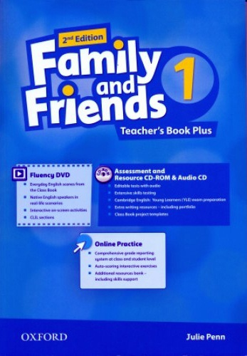 Купити Family and Friends 2nd edition 1: Teacher's Book Plus Pack, Київ, Україна | pidrychnuk.com.ua