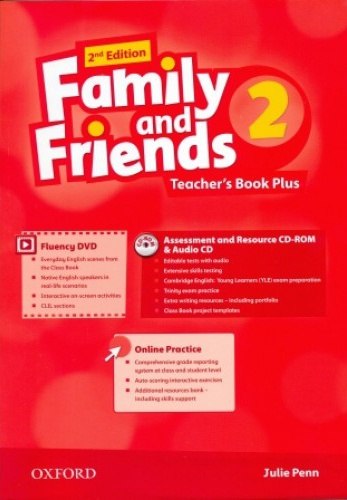Купити Family and Friends 2nd edition 2: Teacher's Book Plus Pack, Київ, Україна | pidrychnuk.com.ua