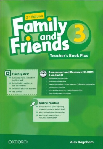 Купити Family and Friends 2nd edition 3: Teacher's Book Plus Pack, Київ, Україна | pidrychnuk.com.ua