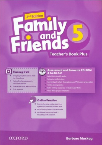 Купити Family and Friends 2nd edition 5: Teacher's Book Plus Pack, Київ, Україна | pidrychnuk.com.ua