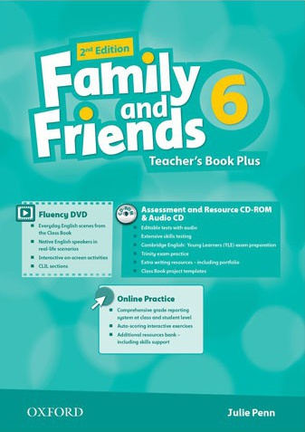 Купити Family and Friends 2nd edition 6: Teacher's Book Plus Pack, Київ, Україна | pidrychnuk.com.ua