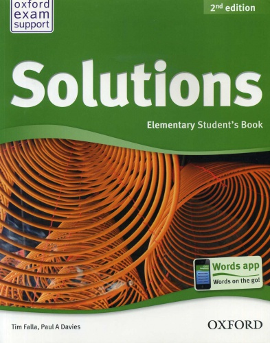 Купити Solutions Elementary 2nd edition: Student's Book, Київ, Україна | pidrychnuk.com.ua