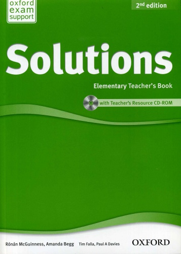 Купити Solutions Elementary 2nd edition: Teacher's Book with CD-ROM, Київ, Україна | pidrychnuk.com.ua