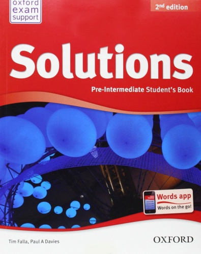 Купити Solutions Pre-Intermediate 2nd edition: Student's Book, Київ, Україна | pidrychnuk.com.ua