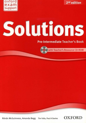 Купити Solutions Pre-Intermediate 2nd edition: Teacher's Book with CD-ROM, Київ, Україна | pidrychnuk.com.ua
