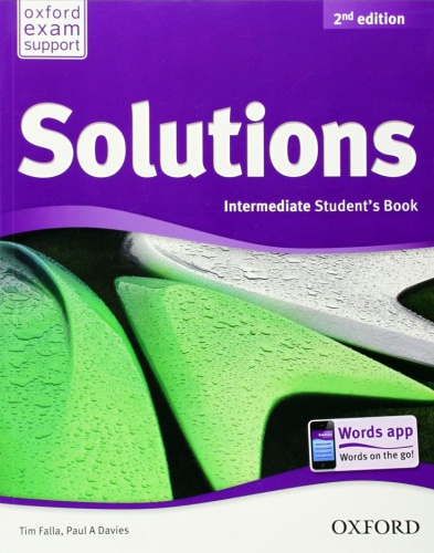 Купити Solutions Intermediate 2nd edition: Student's Book, Київ, Україна | pidrychnuk.com.ua