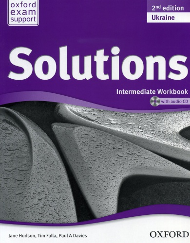 Купити Solutions Intermediate 2nd edition: Workbook with CD-ROM (Ukrainian Edition), Київ, Україна | pidrychnuk.com.ua