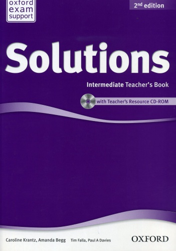Купити Solutions Intermediate 2nd edition: Teacher's Book with CD-ROM, Київ, Україна | pidrychnuk.com.ua