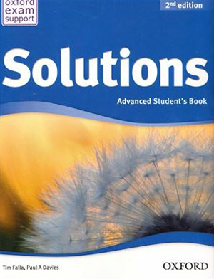 Купити Solutions Advanced 2nd edition: Student's Book, Київ, Україна | pidrychnuk.com.ua