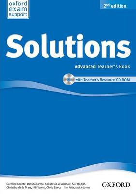 Купити Solutions Advanced 2nd edition: Teacher's Book with CD-ROM, Київ, Україна | pidrychnuk.com.ua